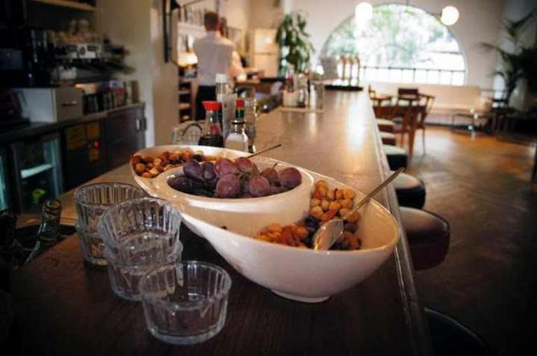 Snacks at the bar| Courtesy of Delicatessen