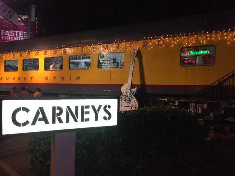 Carney's Train Sunset Strip