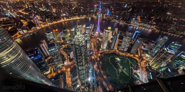 The beautiful night scenery of Shanghai © sama093/Flickr
