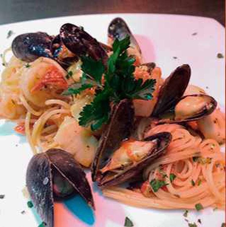 Spaghetti Alla Ruffino   Courtesy of Ruffino