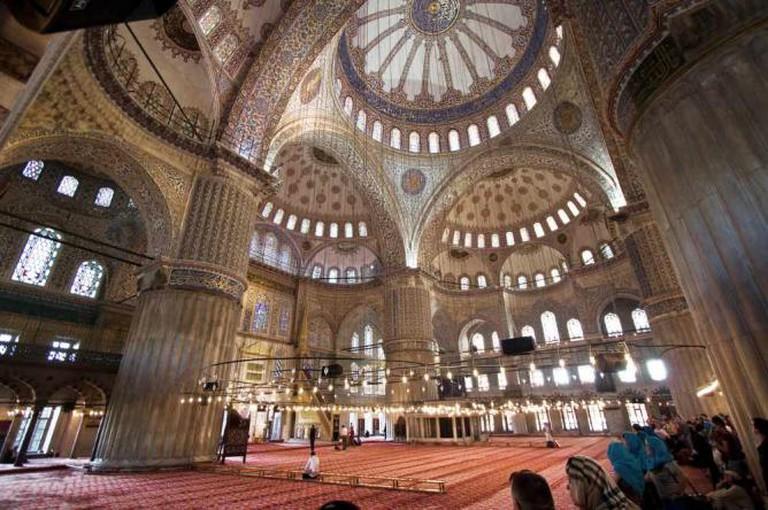 Blue Mosque | © Christian Perez/WikiCommons