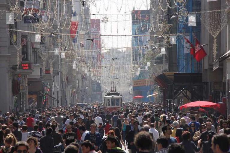 Istiklal Avenue | © Zumrasha/WikiCommons