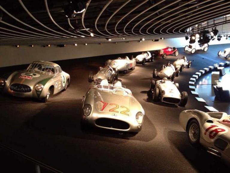 Mercedes Benz Museum Racing cars and trucks © Flickr/mangopulp2008