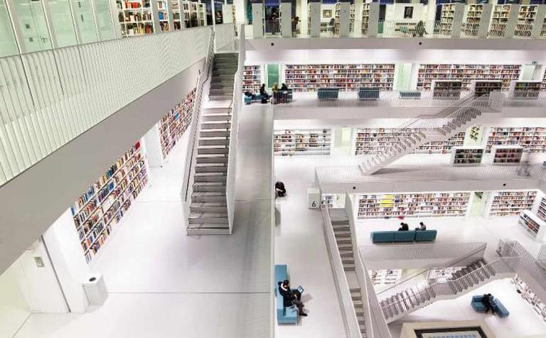 Stuttgart City Library © jwltr freiburg/Flickr
