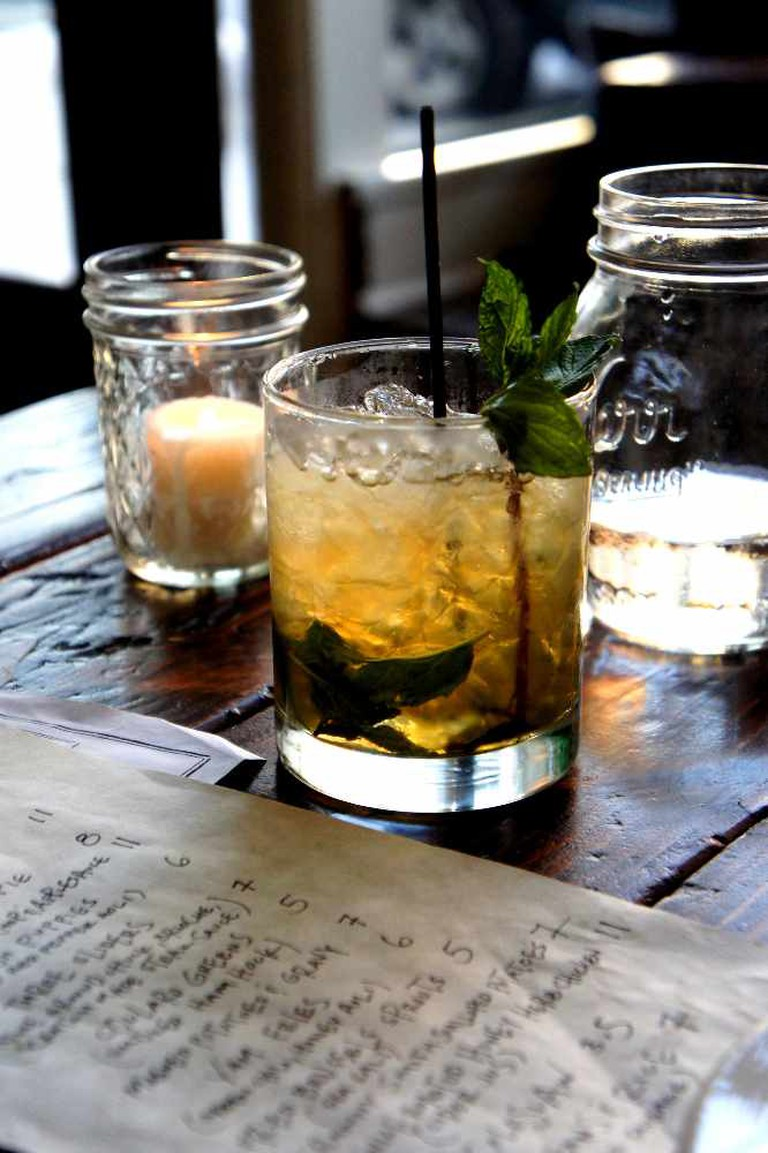 Mint Julep at The Sexton