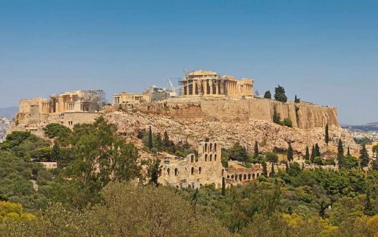 The Acropolis of Athens | © A.Savin/WikiCommons