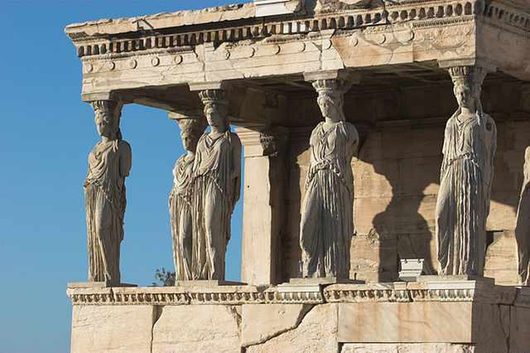 The Caryatid Porch of the Erechtheion | © Thermos/WikiCommons