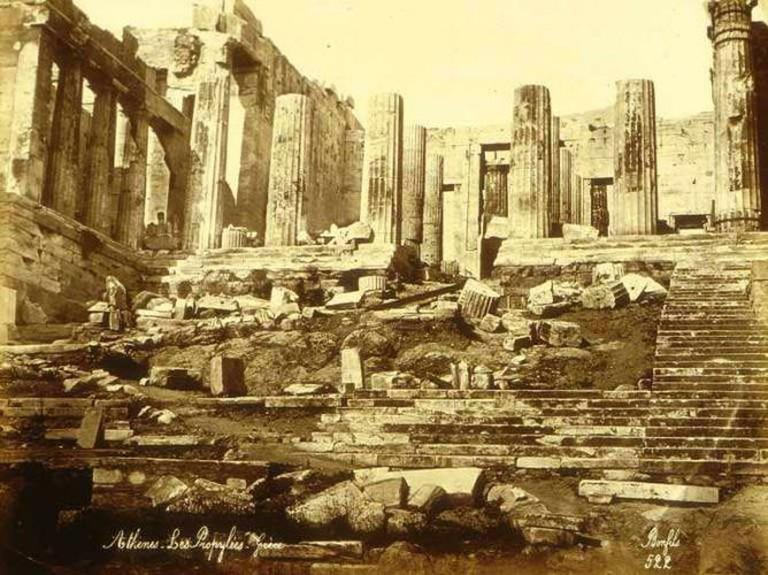 Propylaea exterior | © Félix Bonfils/WikiCommons