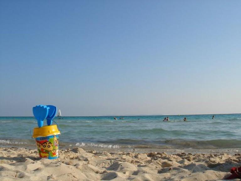 Mallorcan beach   © Rafa Gil/Flickr