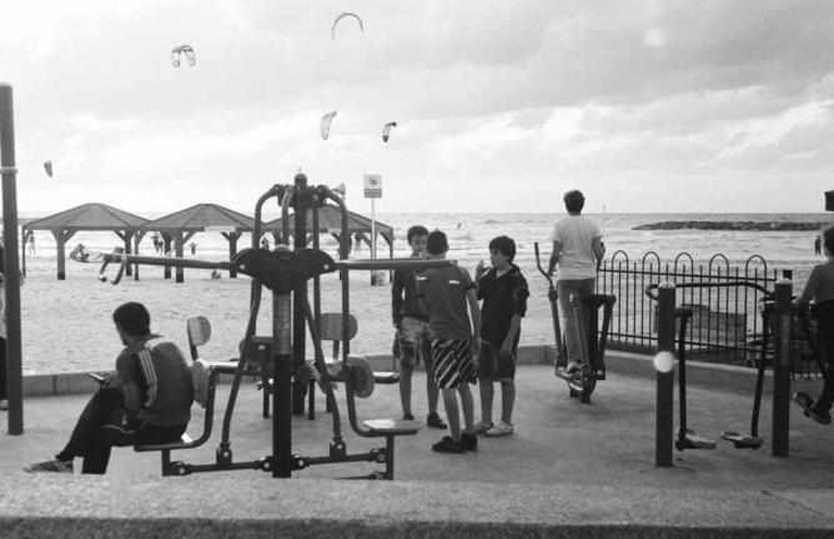 Outdoor Gym | © Flickr