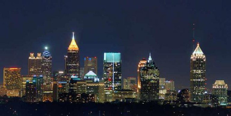 Atlanta Skyline | © Chuck Koehler/WikiCommons