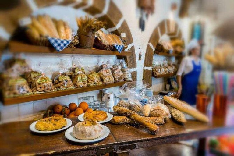 Fresh homemade bread and pastries | Courtesy of Koukos