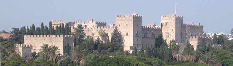 Palace of the Grand Master in the city of Rhodes | © Polimerek/WikiCommons