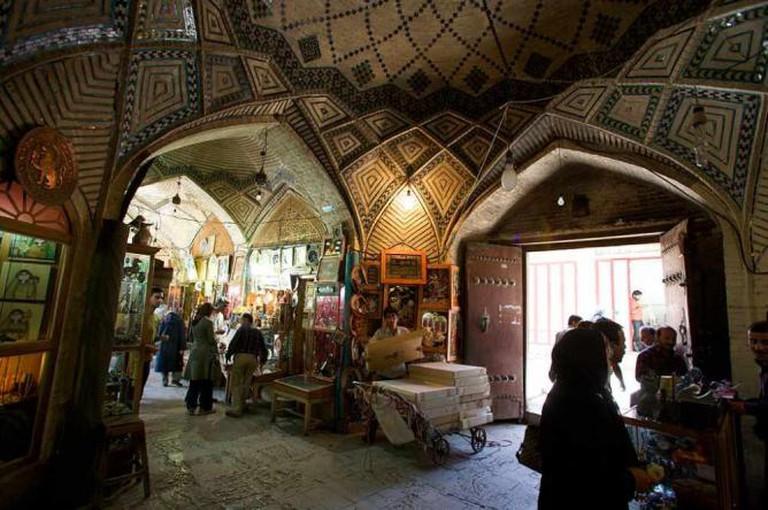Bazaar-e Vakil, Shiraz | © Nick Taylor/Wikicommons