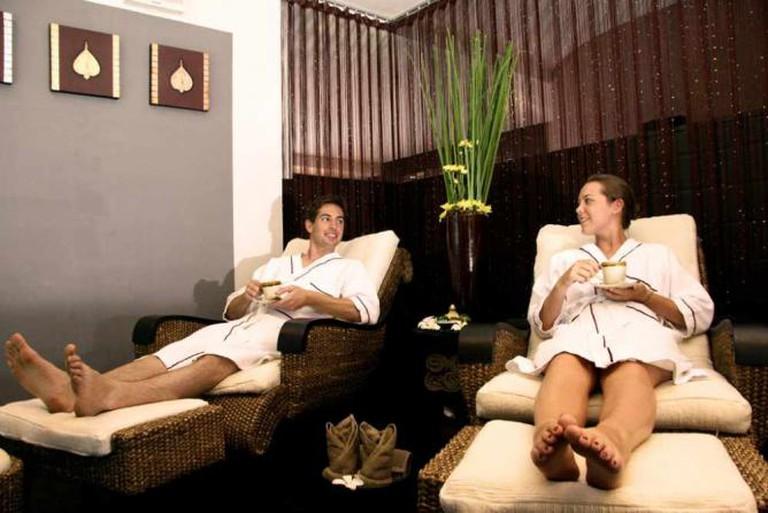 A spa in Cambodia