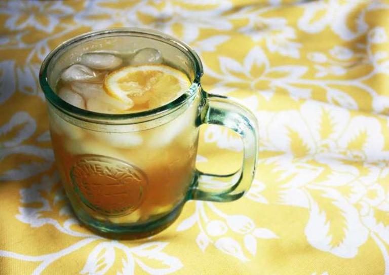 Ginger iced tea | © Liz MC/Flickr