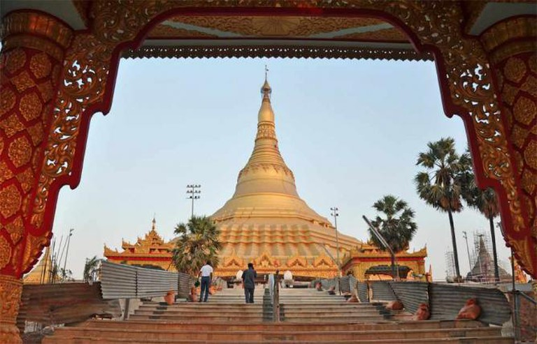 Global Vipassana Pagoda. | © I for Detail. /Flickr