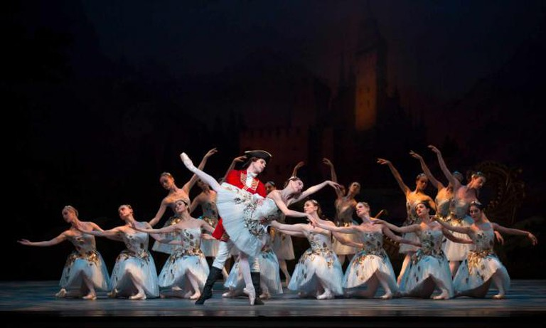Isabella Boylston and Joseph Gorak in The Sleeping Beauty