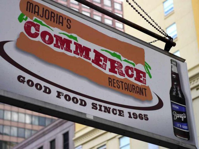 Majoria's Commerce Restaurant | © Chad Kainz/Flickr
