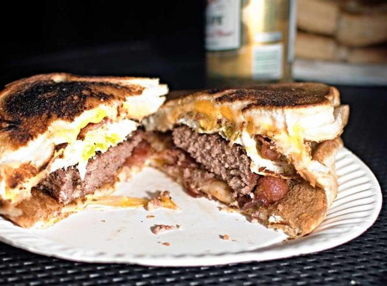 Grilled Cheese + Burger