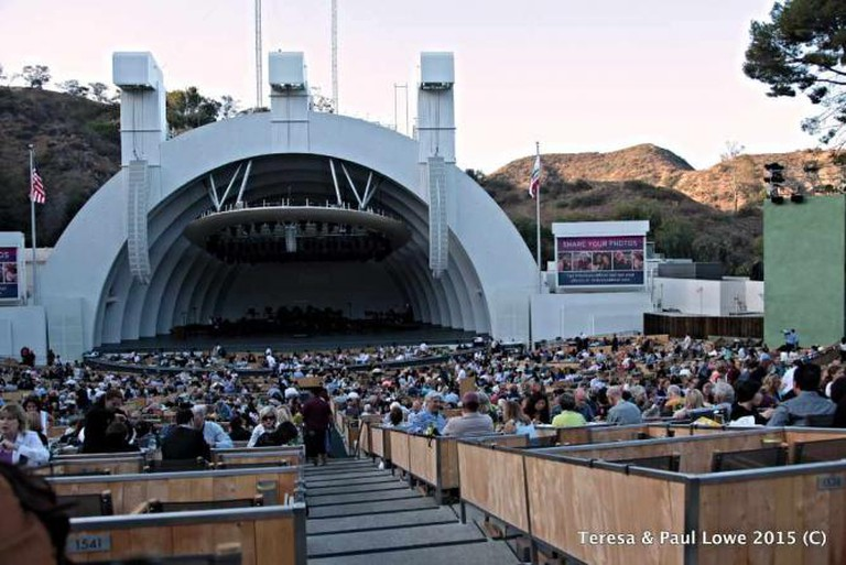 The Hollywood Bowl and its new boxed seating