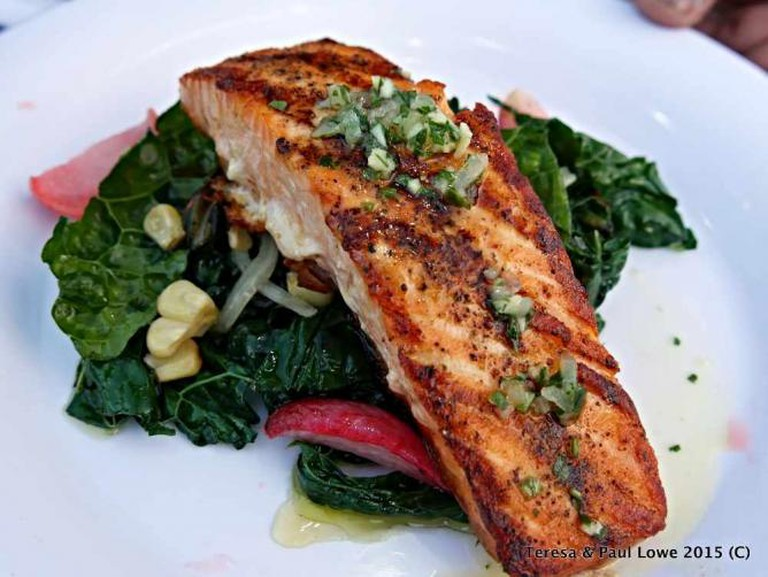Try the Atlantic Salmon, now available at The Hollywood Bowl