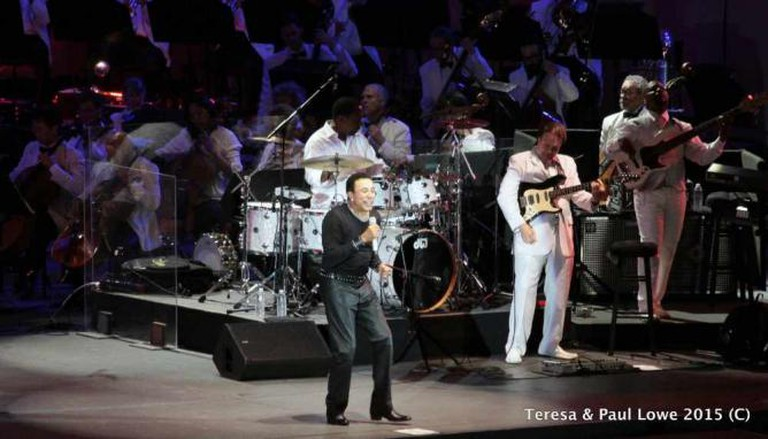 "William ""Smokey"" Robinson Jr. performed over the July 4th Holiday at The Hollywood Bowl"