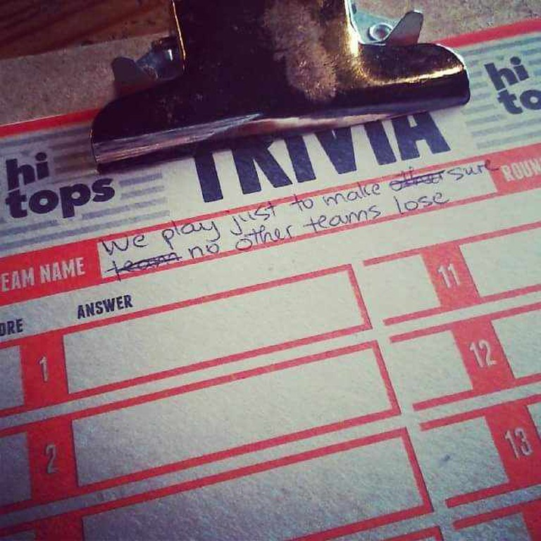 Trivia Game Board| © Phuong Pham