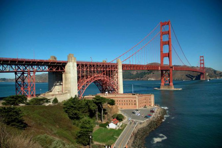 View from Presidio | © Guillaume Paumier/Wikimedia