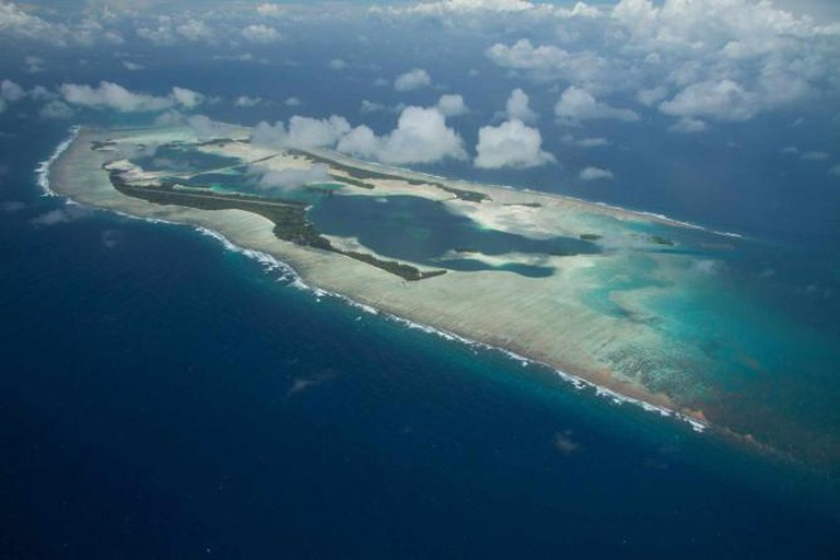 An aerial view of Palmyra Island   © USFWS - Pacific Region/ Flickr