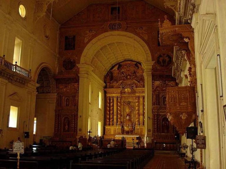 Basilica of Bom Jesus, Goa | © Aruna Radhakrishnan /Flickr