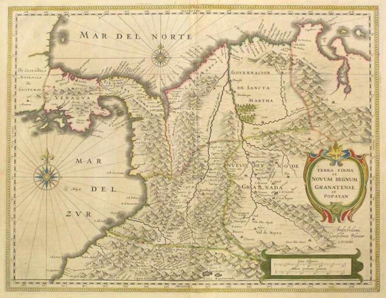 Historic Map   © Douglas Fernandes/ Flickr