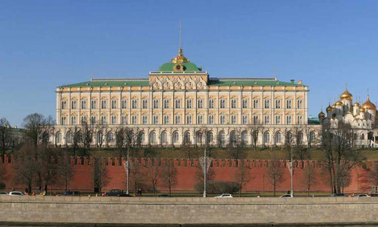 Moscow's Grand Kremlin Palaces | © Ludvig14/WikiCommons