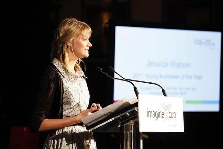 Jessica Watson   © MicrosoftAustralia/Wikicommons