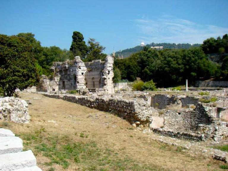 Roman Baths in Nice