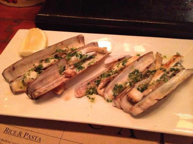 Razor Clams | © Krista/Flickr