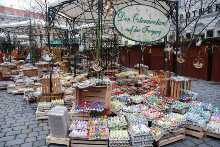 Easter Market at the Freyung © Jürgen Mangelsdorf/ Flickr
