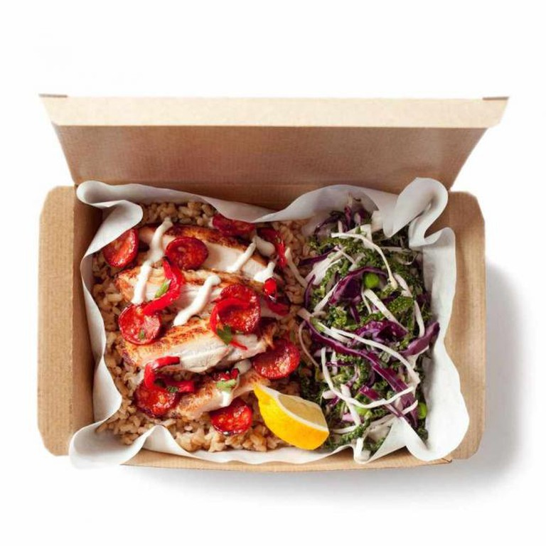 Chicken and Chorizo Club Hot Box | © Leon Restaurants