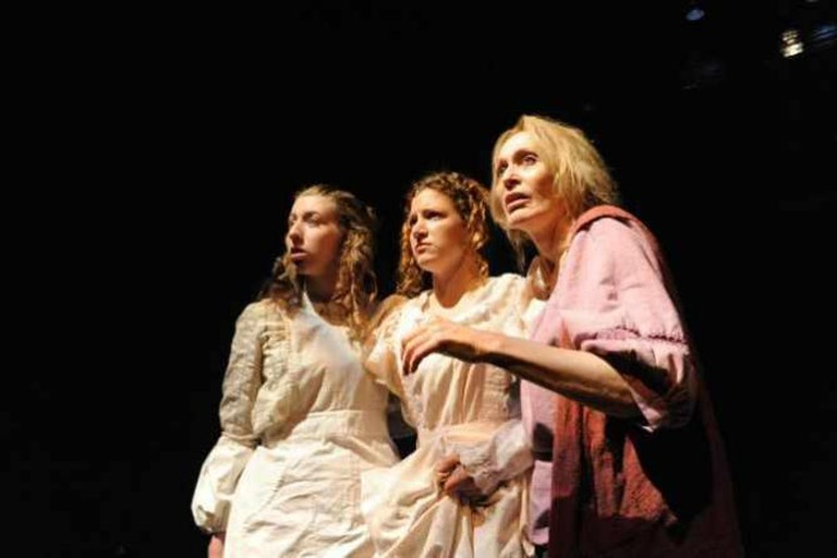 Lana Meyer, Melissa MacDonald, Jan Maxwell | Courtesy of Potomac Theater Project