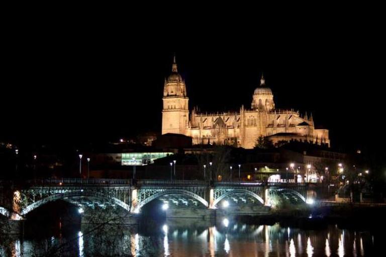 Salamanca by night | © Ramón Cutanda López/Flickr