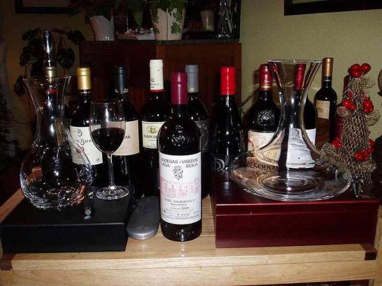 Spanish Wines | © Log/WikiCommons