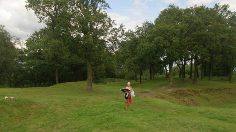 Roman Customs official at the Antonine Wall | ©Rory McInnes-Gibbons/SticktoScotland