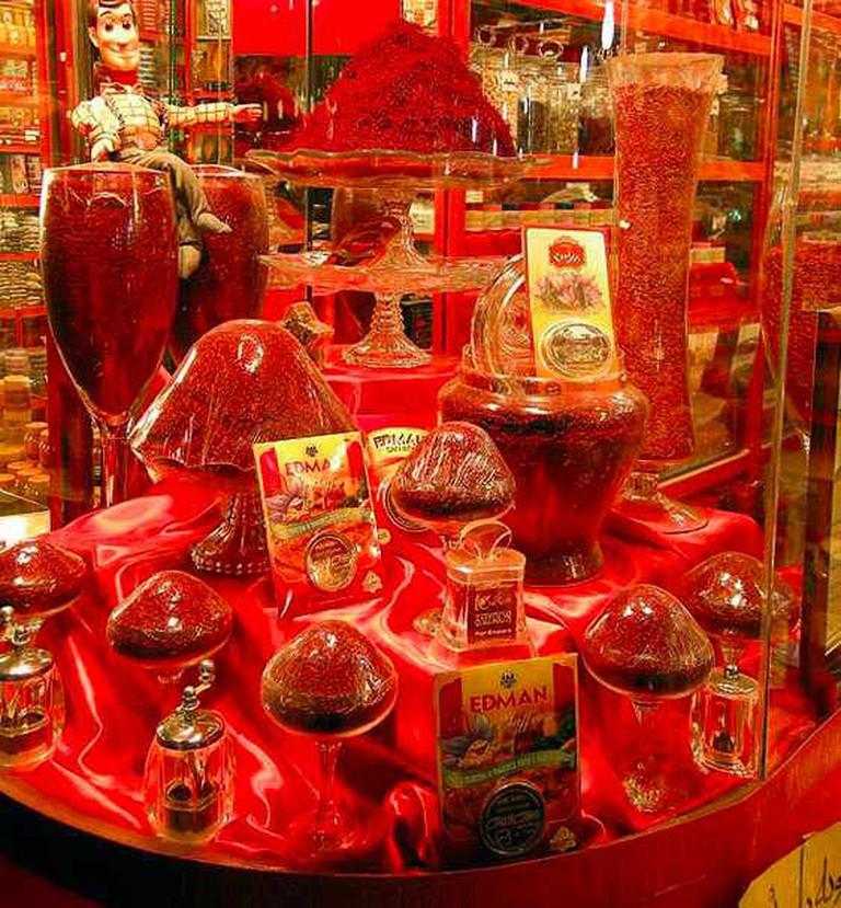 Saffron Shop | © Aaabdolrashidi/Wikicommons