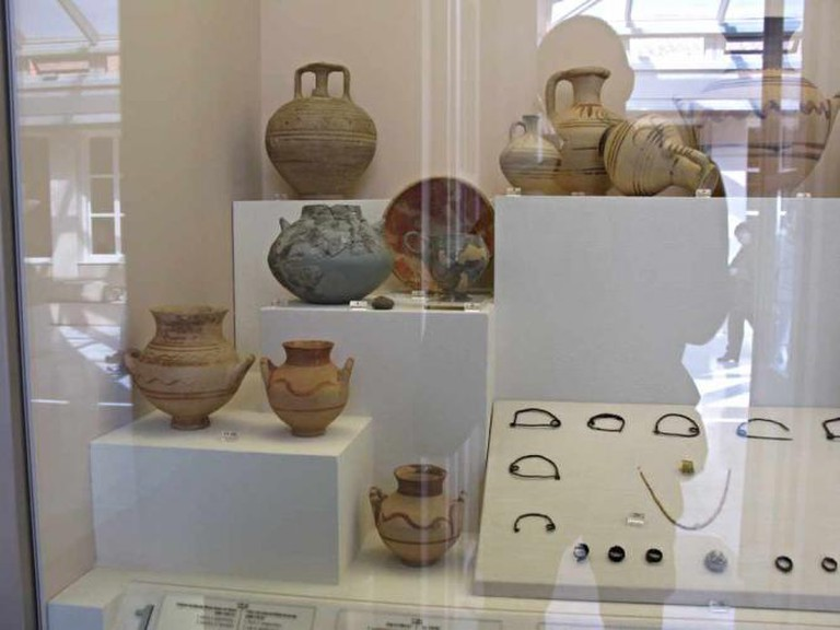 Examples of Middle Bronze Age artifacts