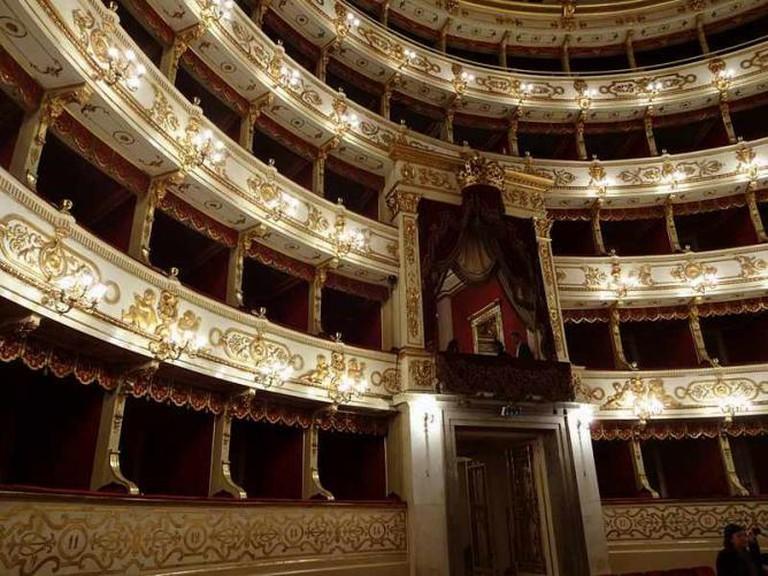 Inside Teatro Regio | © Viva-Verdi/Bubino451/WikiCommons