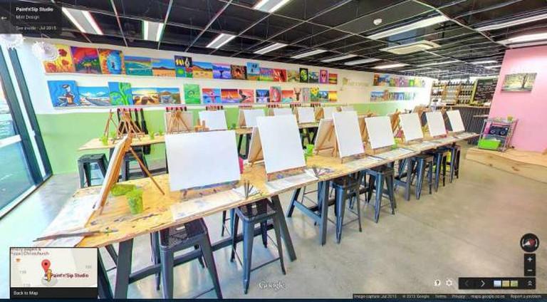 Paint N' Sip Studio   Courtesy of Paint N' Sip Studio