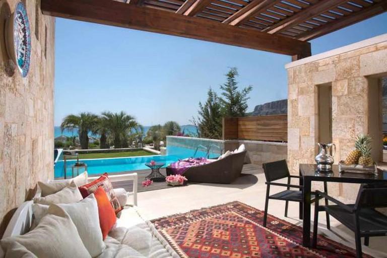 Private swimming pool | Courtesy of Aqua Grand Resort