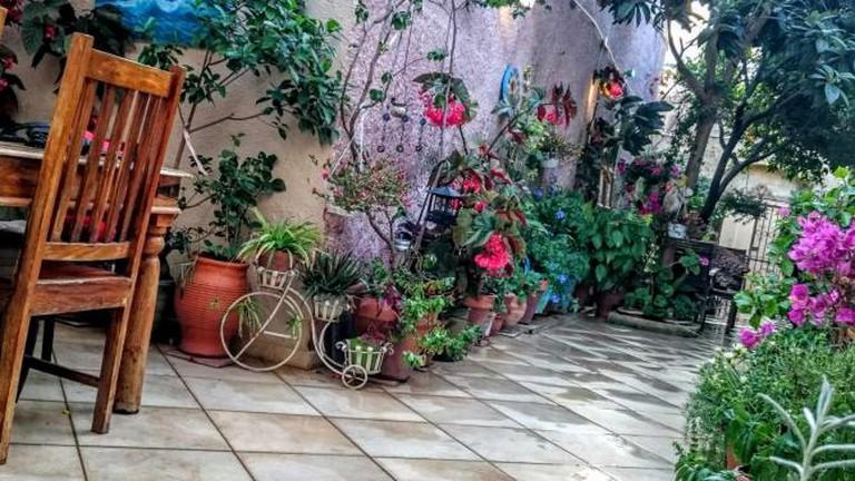 Hotel yard | Courtesy of Casa Antica