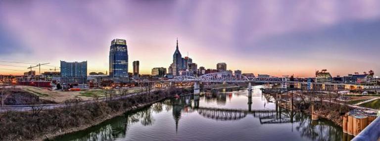 Nashville skyline   © Jason Mrachina/Flickr