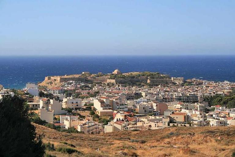 Panoramic view of Rethymno | © Lapplaender/WikiCommons